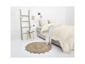Ložní prádlo RL 12 krém, 200 x 220 cm, FANCY Výšivka