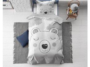 Dětské povlečení Sladký medvěd, 135 x 200 cm, bavlna, Dreamhouse