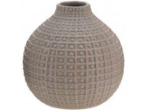 Keramická kulatá váza