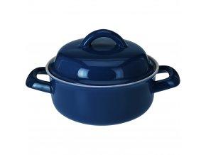 Keramický hrnec s poklicí, ohnivzdorné nádobí  200 ml EH Excellent Houseware