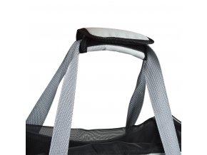 Přepravní taška pro psy a kočky 48 cm, šedá