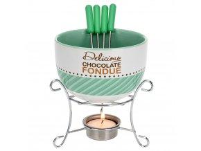 Keramický fondue set -  pro 4 osoby EH Excellent Houseware