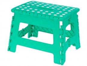 Skládací stolička, protiskluzová