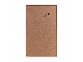 Korková deska pro poznámky s kolíky, 100x60 cm, ZELLER