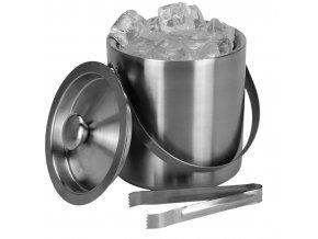 Barmanský set: kbelík na led + kleště