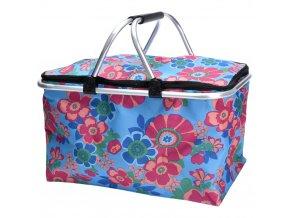 Skládací koš - nákupní taška, piknik