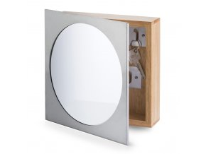 Věšák na klíče, skříňka + zrcadlo, ZELLER