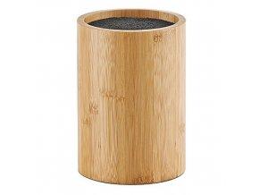 Univerzální  stojan na nože - stojan, bambusový ZELLER