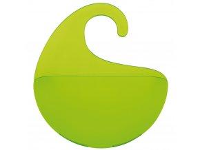 Organizér koupelnový SURF XS - barva zelená, KOZIOL