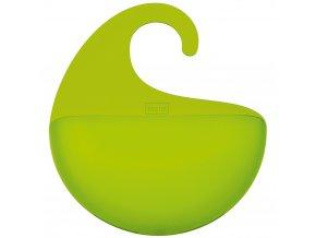 Organizér koupelnový SURF XL -  olivová barva, KOZIOL