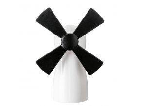 Mlýnek na koření MILLER - bílo-černé barevné schéma, KOZIOL