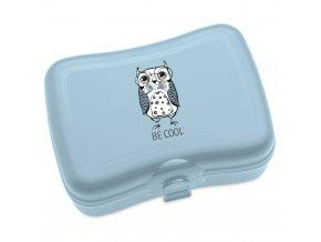 Krabička na svačinu ELLI, svačinovka - barva modrá, KOZIOL