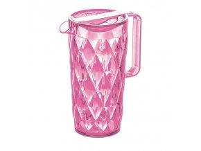 Džbánek CRYSTAL - barva růžová, KOZIOL