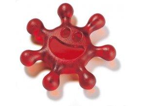 Otvírák šroubovacích uzávěrů SUNNY - barva červená, KOZIOL