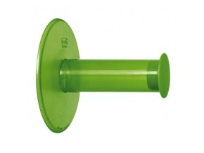 Držák na toaletní papír PLUG´N ROLL - barva zelená, KOZIOL