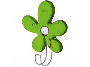 Věšák na ručníky A-PRIL, háček - barva zelená, KOZIOL