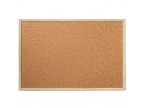 Korková tabule na poznámky, 30x40 cm, EMAKO