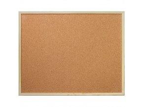 Korková tabule na poznámky, 80x100 cm, EMAKO