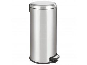 Koš na odpadky, nerezová ocel LEMAN, 30 l, WENKO
