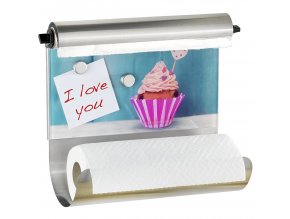 Úchyt na papírové kuchyňské ručníky CUPCAKE 3 v 1, WENKO