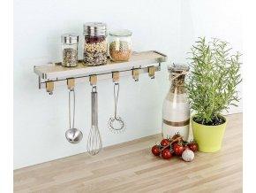 Nasazovací věšák Bamboo Premium - 6 ks, WENKO
