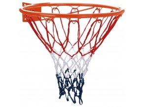 Kovový basketbalový koš, originální velikost, průměr 46 cm XQ MAX