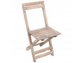Skládací židle -  stojan pod květináč EMAKO