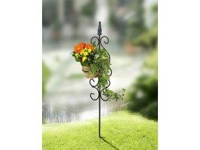 Zarážecí zahradní stojan na květináč, WENKO