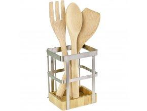 Držák na kuchyňské náčiní Bamboo Premium, WENKO