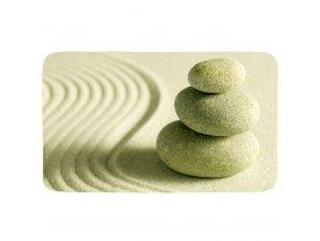 Protiskluzová podložka do koupelny Sand and Stone - 75x45 cm, WENKO