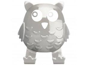 Univerzální háček OWL na přísavku, věšák - barva taupe, WENKO