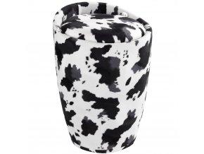 Taburet CANDY COW - koš na prádlo, 2 v 1, WENKO
