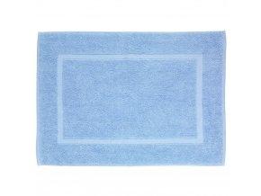 Koberec do koupelny TERRY PARADISE, modrá barva, 70 x 50 cm, WENKO