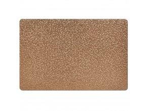 Ochranná podložka, METALLIC, dekorační podložka na stůl - zlatá barva, ZELLER