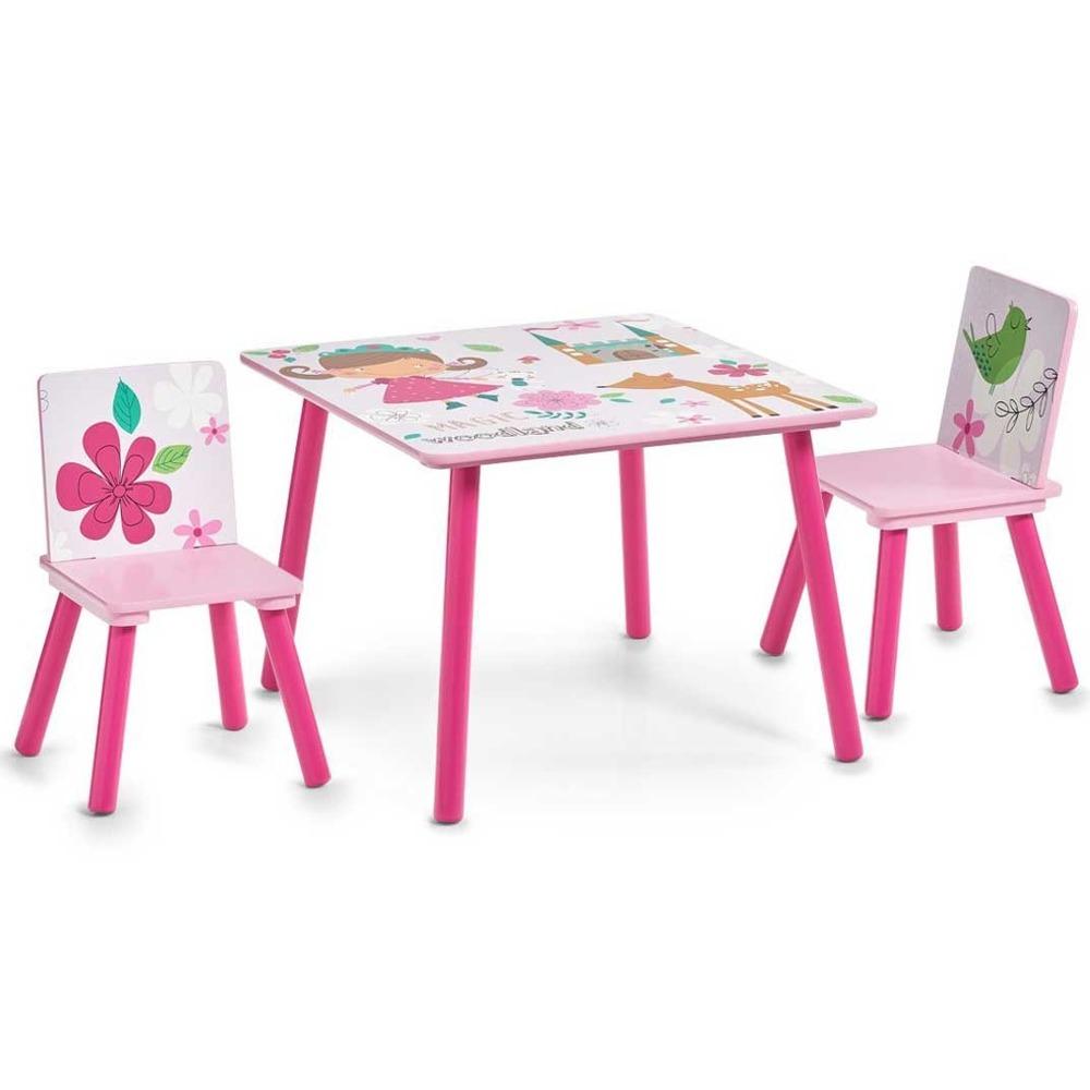 Dětský stolek GIRLY + 2 židličky, ZELLER