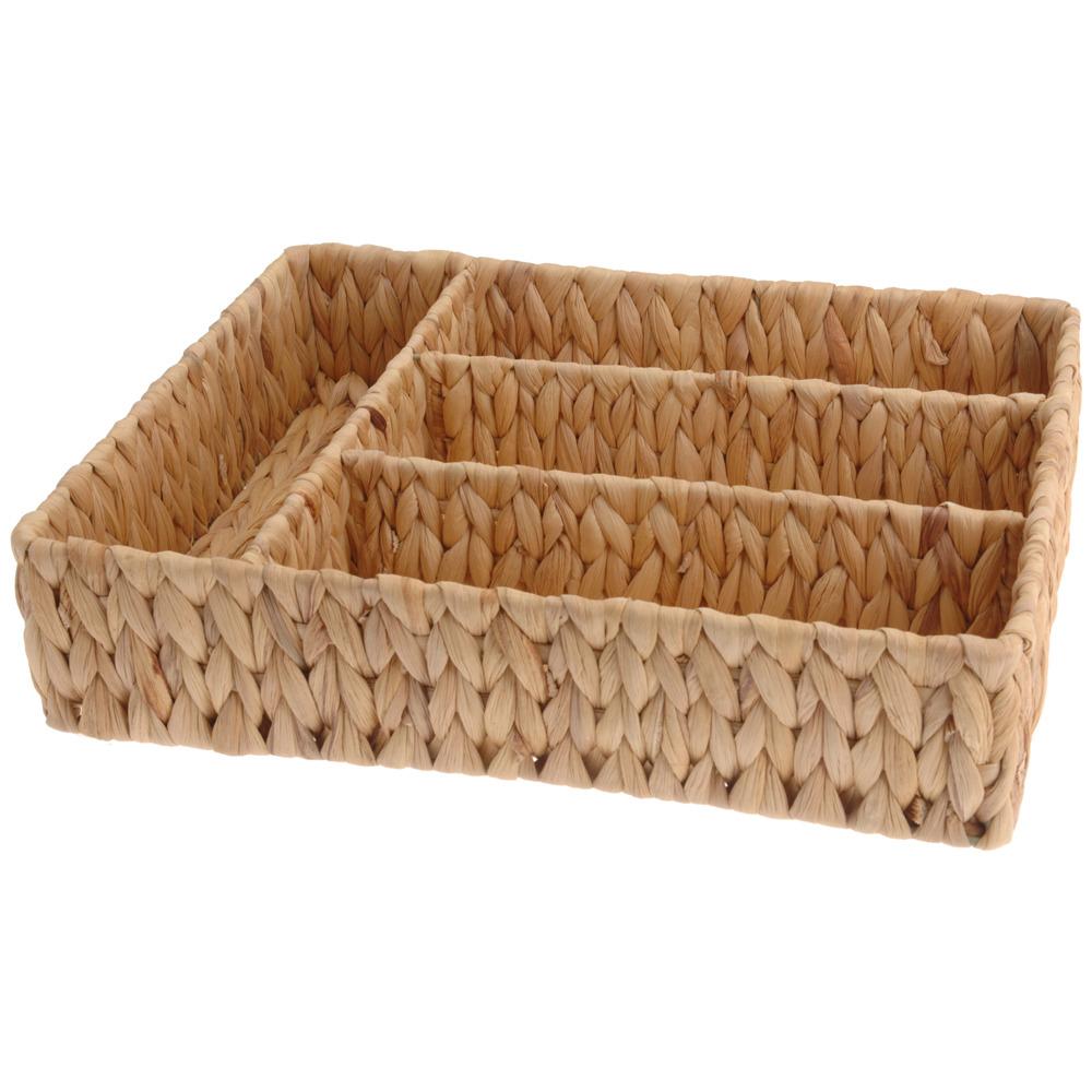 Kontejner na jídelní příbory, vložka do zásuvky - vodní hyacint Emako