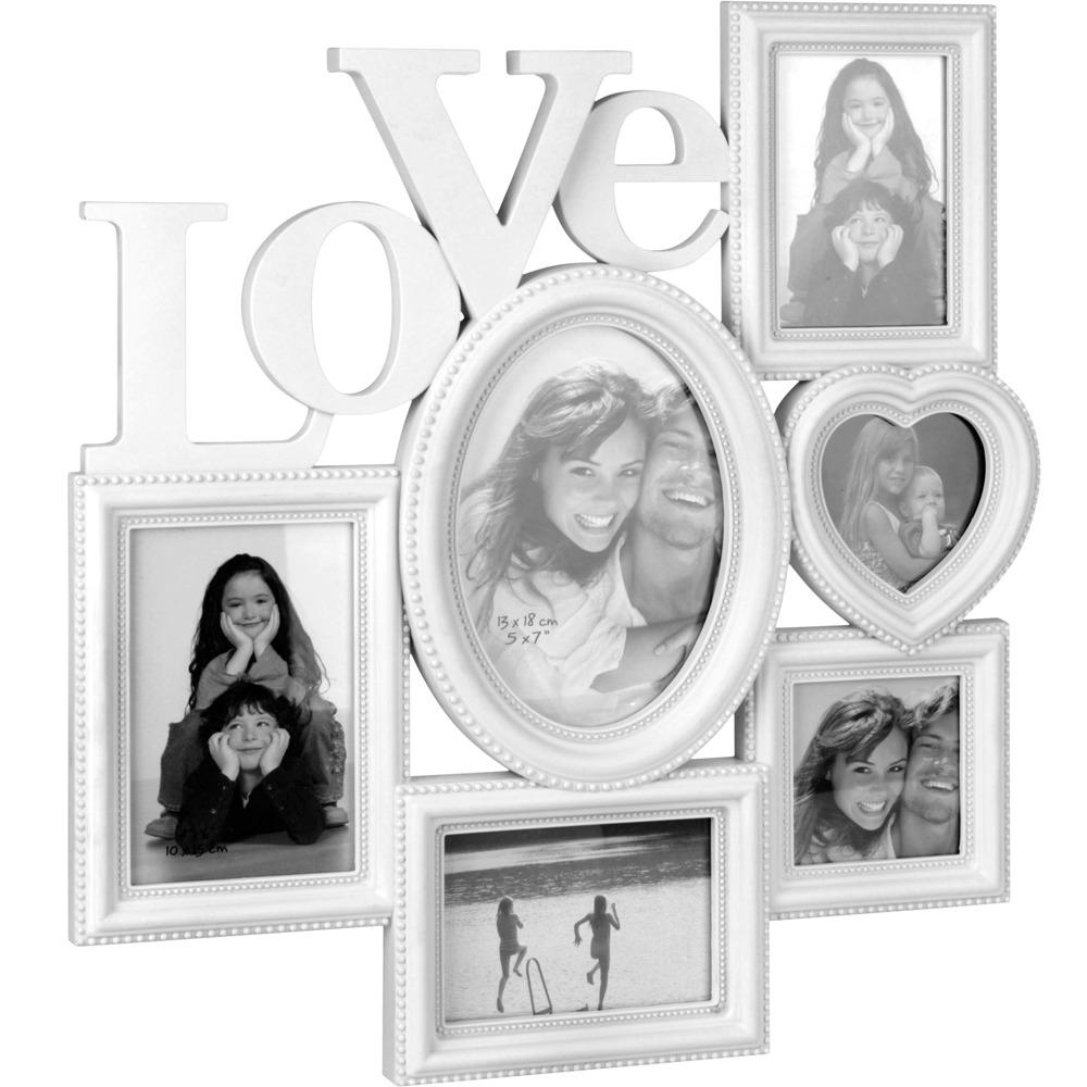 Fotorámeček LOVE, mini galerie na fotky Home Styling Collection