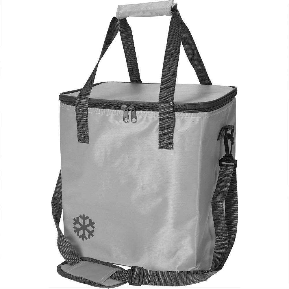 Tepelný, skládací koš, nákupní taška, pro piknik, 18 l, barva šedá Redcliffs Outdoor