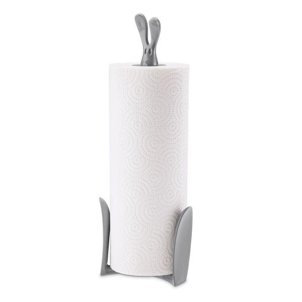 Stojan na papírové ručníky ROGER - barva šedá, KOZIOL