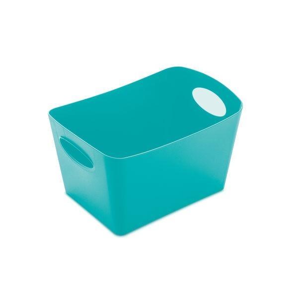 Škopek do koupelny BOXXX, kontejner, velikost S - barva tyrkysová, KOZIOL