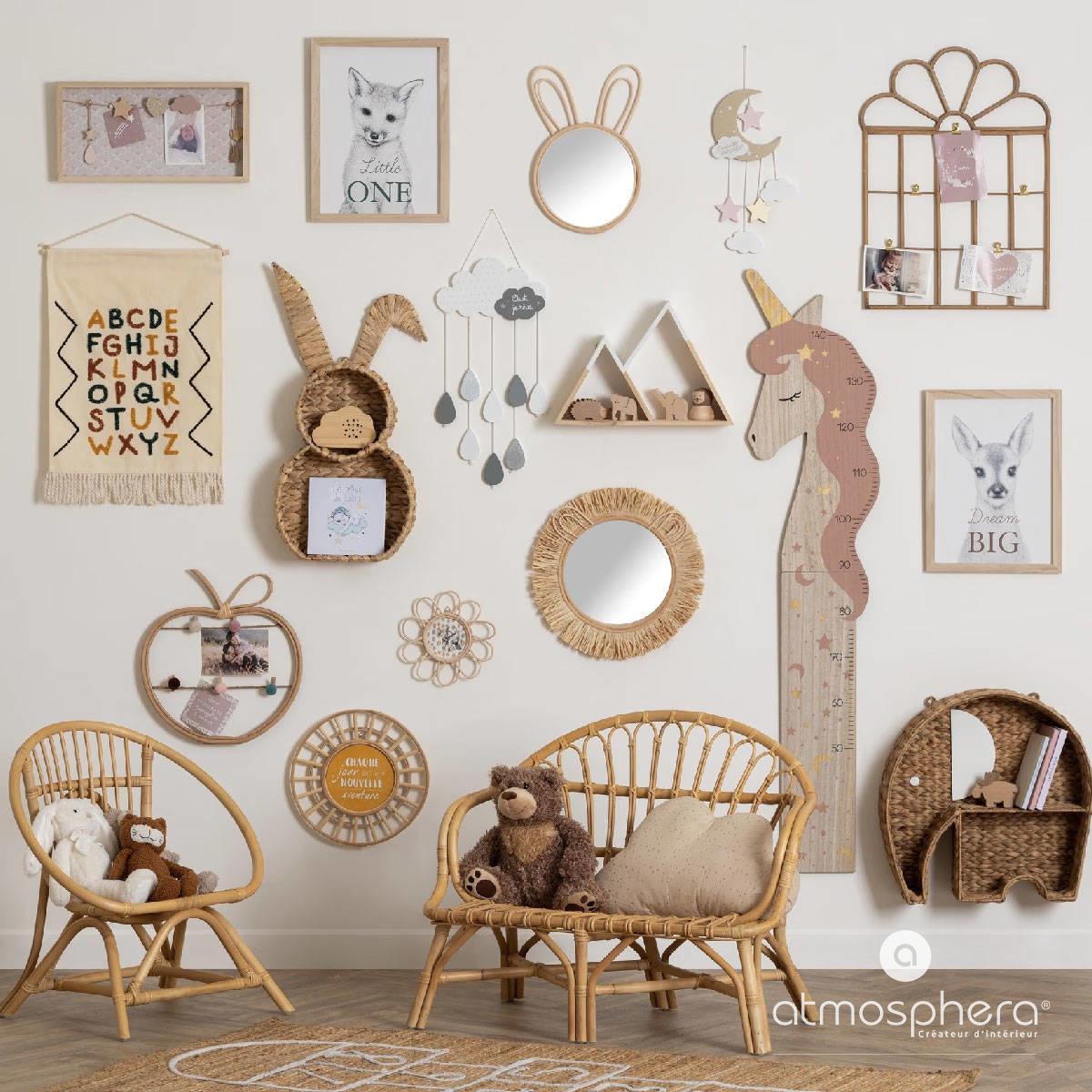 Atmosphera for kids Závěsná dekorace, kouzelná ozdoba, která bude vypadat krásně v dětské ložnici
