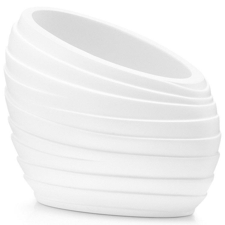 ZELLER Plastová nádoba, pohár pro ukládání zubních kartáčků.