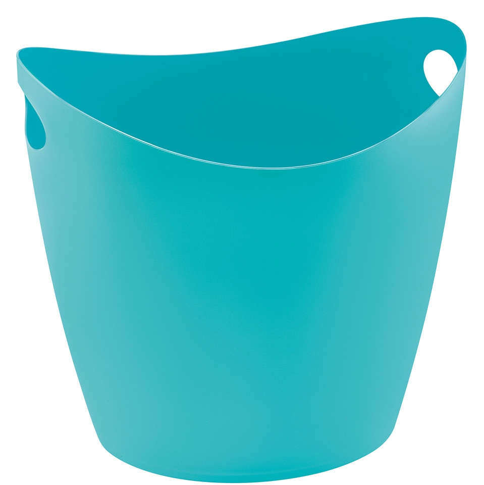 škopek do koupelny BOTTICHELLI,velikost XL - barva tyrkysová, KOZIOL