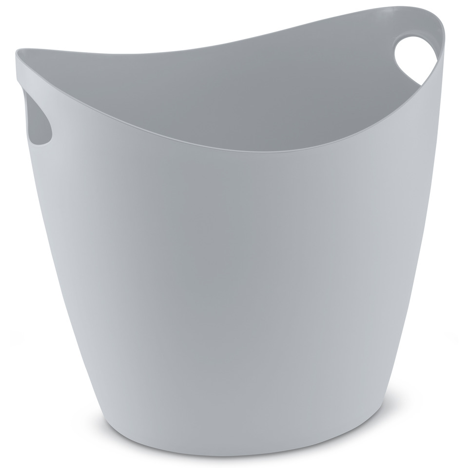 škopek do koupelny BOTTICHELLI,velikost XL - barva šedá, KOZIOL
