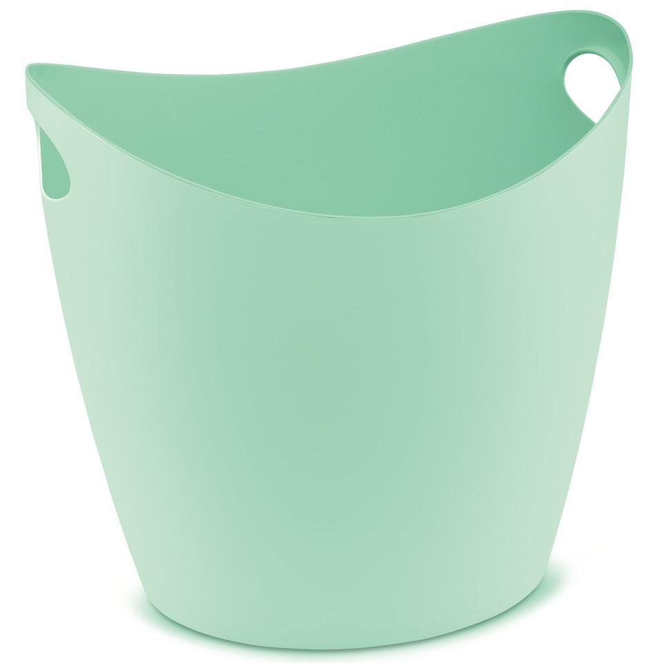 škopek do koupelny BOTTICHELLI,velikost XL - barva mentolová, KOZIOL