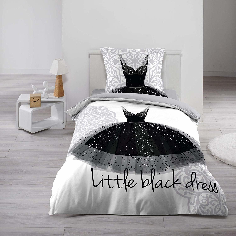 Douceur d'intérieur Černé šaty, 140 x 200 cm