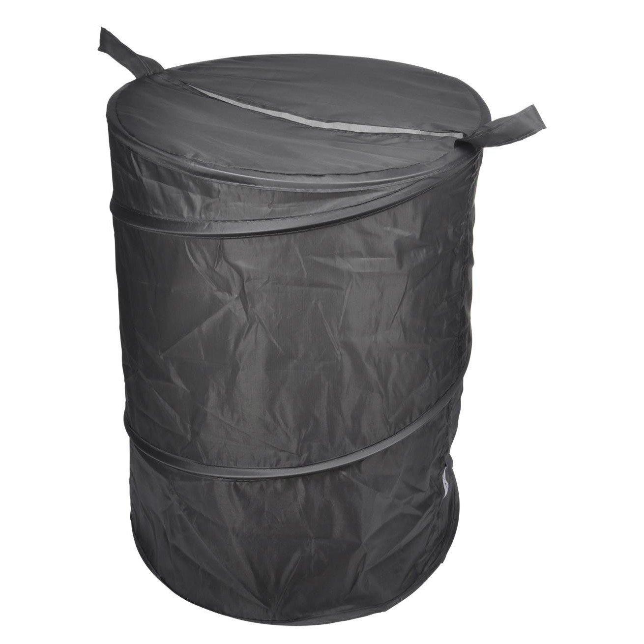 Douceur d'intérieur Koš na prádlo v tmavě šedé barvě VITAMINE POP, 50x38cm