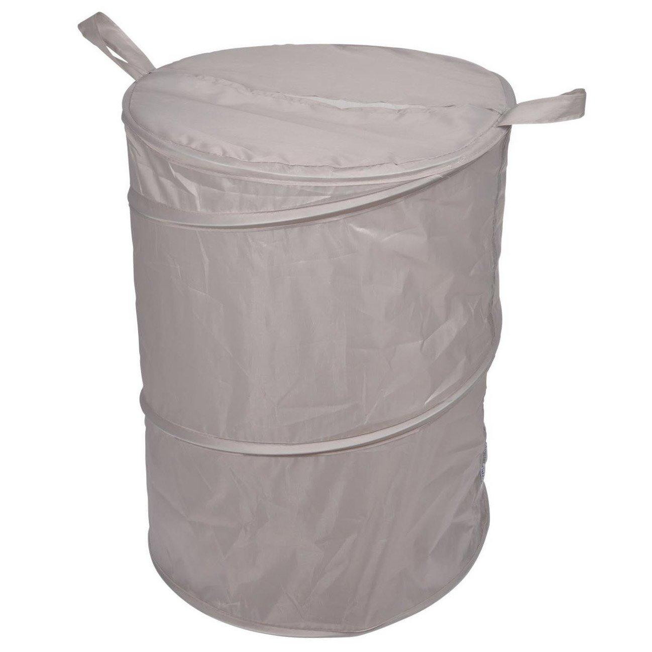 Douceur d'intérieur Koš na prádlo VITAMINE POP, barva taupe, 50x38cm