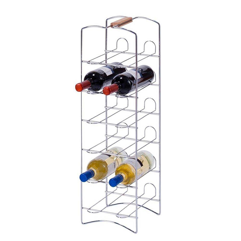Kovový stojan na víno - 12 lahví, ZELLER