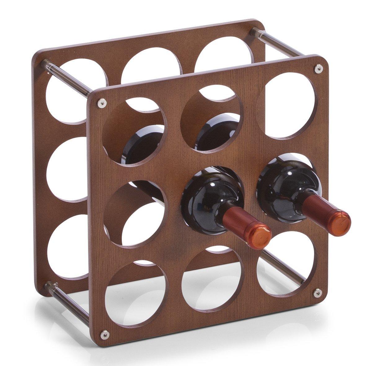 Stojan na víno, alkohol, láhve - 9 láhve 0,75 L ZELLER